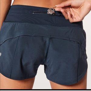 Lululemon 2.5 speed up shorts